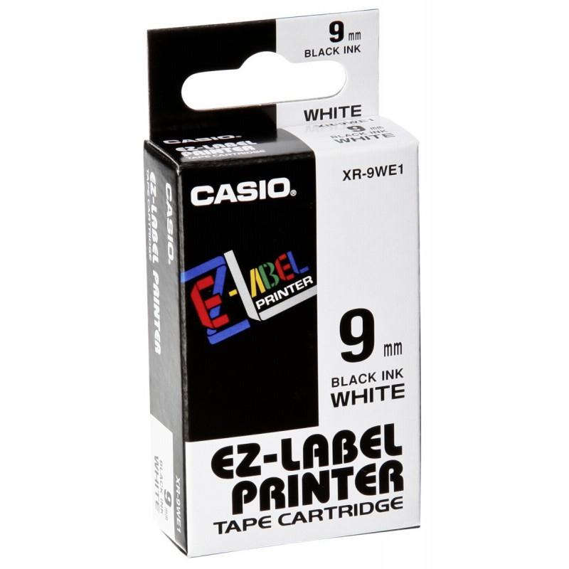 Páska-Casio IR/XR 9 WE1 čer/bílé