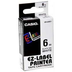 Páska-Casio KR/XR 6 WE1 čer/bílé