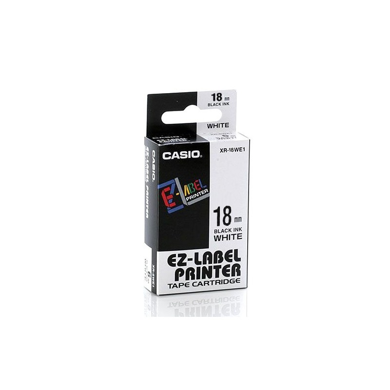 Páska-Casio IR/XR 18 WE1 čer/bílé