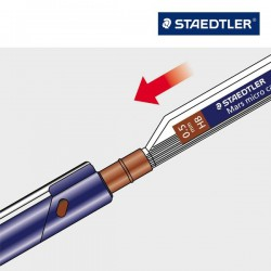 Tuhy do mikrotužky Staedtler 0,7 2B, Mars micro carbon 250