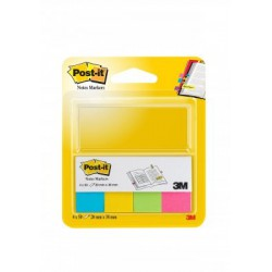 Post-it® značkovací bločky 670 ultra barvy, 4x100 záložek