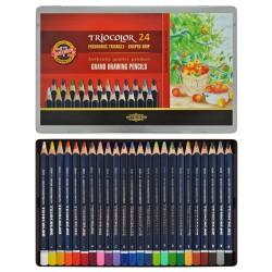 KOH-I-NOOR 3795, souprava pastelek akvarelových Mondeluz, 36 barev
