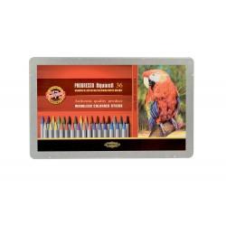 KOH-I-NOOR 8786, souprava tužek pastelových akvarelových v laku, 48 barev