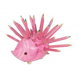 KOH-I-NOOR 9960V, ježek velký s pastelkami 96 ks