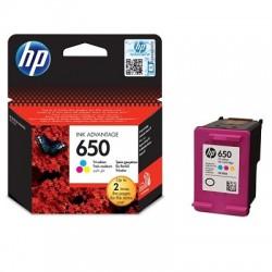 Inkoustová cartridge HP 650 tříbarevná, CZ102AE