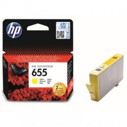 Inkoustová cartridge HP 655 yellow žlutá, CZ112AE