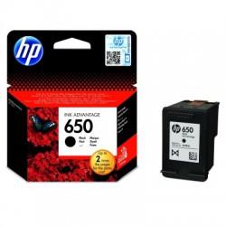 Inkoustová cartridge HP 650 black černá, CZ101AE