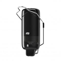 Tork 560108, černý zásobník na tekuté mýdlo s loketní pákou, systém S1