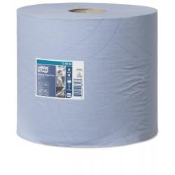 Tork 130052 papírová utěrka Plus - malá kombi role modrá, návin 255 m