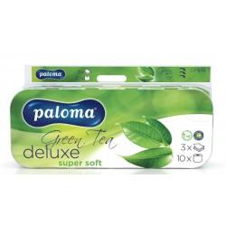 PALOMA EXCLUSIVE, toaletní papír 3 vrstvý oranžový 150 útržků, 10 ks