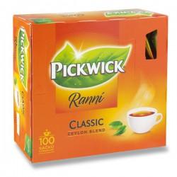 PICKWICK čaj černý Ranní - velké balení 100 sáčků