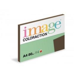 Papír barevný A4/80g Coloraction černý, 50 ks
