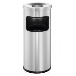 Durable 3332, odpadkový koš Safe s kulatým popelníkem, výška 63 cm