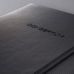Sigel CONCEPTUM Notebook, A4, záznamní kniha čistá, 194 listů