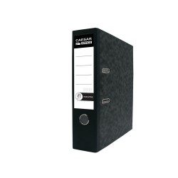 Pákový pořadač Esselte Basic A4, hřbet 7,5 cm mramor
