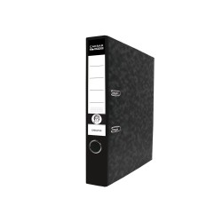 Pořadač pákový A4 7,5 cm Executive Rado, černý hřbet mramor