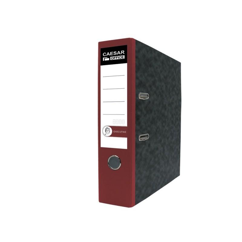 KORONA pákový pořadač  A4,mramor, barevný hřbet 8cm