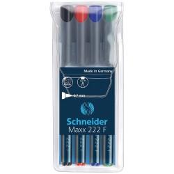 Schneider Maxx 220S, popisovač permanentní mikro hrot, stopa 0,4 mm
