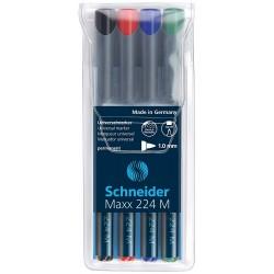Schneider Maxx 222F, popisovač permanentní mikro hrot, stopa 0,7 mm