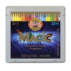 KOH-I-NOOR 8774, Vánoční edice pastel Progresso Magic 24 ks