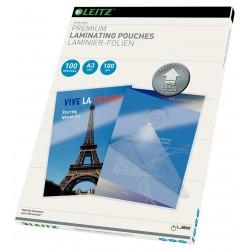 Laminovací kapsy Leitz iLAM UDT formát A3, síla 80 mic