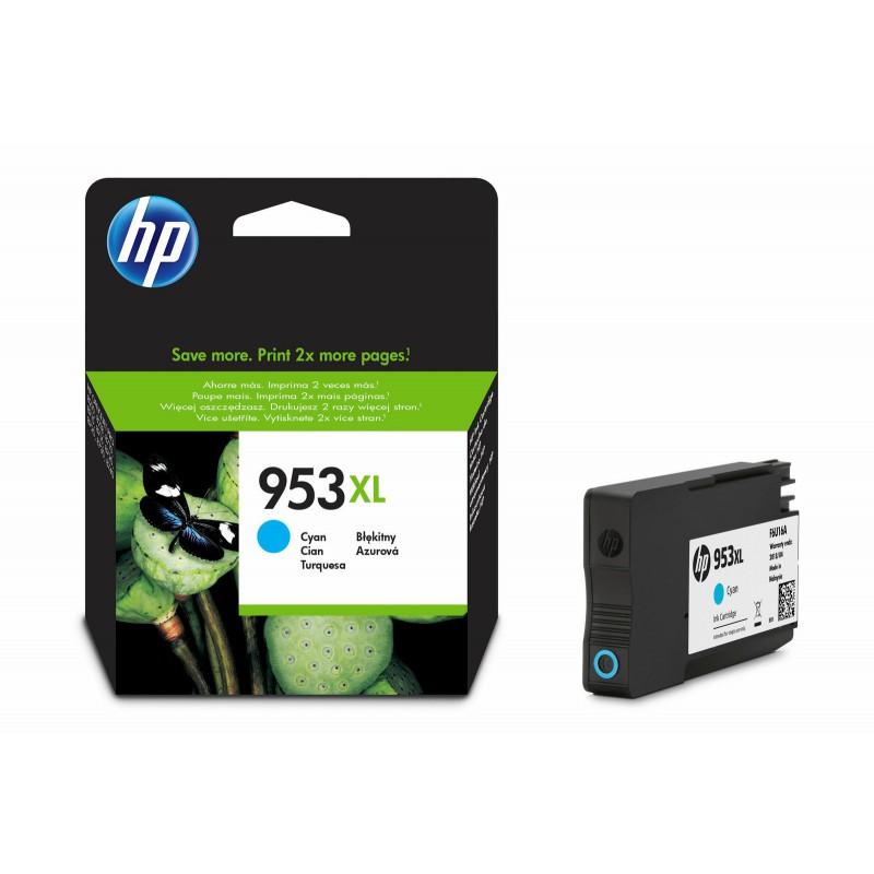 HP 953XL Černá originální inkoustová kazeta s vysokou výtěžností(L0S70AE)