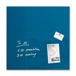 SIGEL GL111, Magnetická skleněná tabule Artverum, bílá, rozměr 48x48 cm