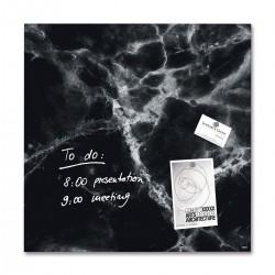 SIGEL GL169, Magnetická skleněná tabule Artverum, textura břidlice, rozměr 48x48 cm