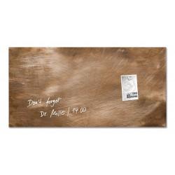 SIGEL GL149, Magnetická skleněná tabule Artverum, textura břidlice, rozměr 91x46 cm