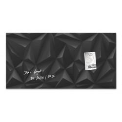 SIGEL GL267, Magnetická skleněná tabule Artverum, bílá, rozměr 91x46 cm