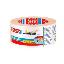 Tesa 5089, Maskovací páska lepicí krepová, 50x50