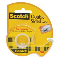 3M 136D Scotch oboustranná lepící páska s odvíječem, 12x6,3 m