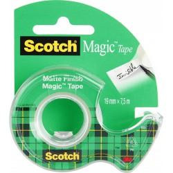 3M 810 Scotch® Magic lepicí páska bankovní popisovatelná s odvíječem, 19x7,5