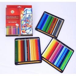 Kohinoor Polycolor 3837, souprava uměleckých pastelek Polycolor 72
