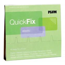 QuickFix vodovzdorná náplast - náhradní balení do zásobníku, 45 ks