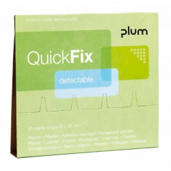 QuickFix pružná náplast - náhradní balení do zásobníku, 45 ks