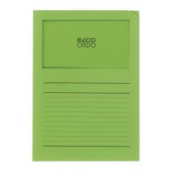 Elco Ordo Classico - zakládací papírové desky s potiskem a oknem, modré