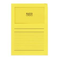 Elco Ordo Classico - zakládací papírové desky s potiskem a oknem, zelené
