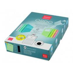 Elco Ordo Classico - zakládací papírové desky s potiskem a oknem, mix 5 barev