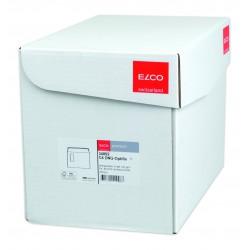 ELCO PREMIUM obálka C4 okénko vlevo, samolepící s krycí páskou a vnitřní tisk, 250 ks