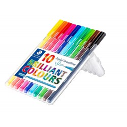 STAEDTLER triplus fineliner 334, sada 15 ks Brilliant colours