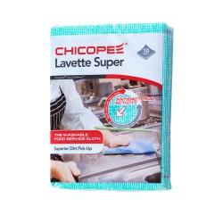 Chicopee Lavette Super 74532, Odolná víceúčelová hygienická utěrka, zelená 51x36cm, 10ks v balení