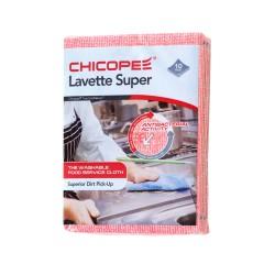 Chicopee Lavette Super 74531, Odolná víceúčelová hygienická utěrka, červená 51x36cm, 10ks v balení