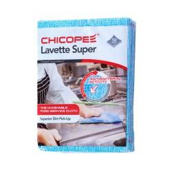 Chicopee Lavette Super 74530, Odolná víceúčelová hygienická utěrka, modrá 51x36cm, 10ks v balení