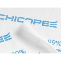 Chicopee Microfibre Light 74733, jednorázová víceúčelová hygienická utěrka, modrá 34x40cm, 40ks v balení