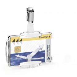 Durable 8900, stříbrný obal na kreditní karty a doklady, ochrana RFID SECURE