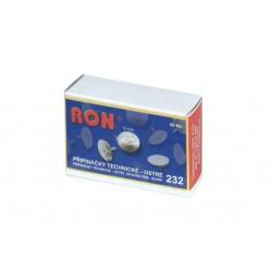 Conmetron připínáčky kovové 232, technické ostré průměr 10 mm