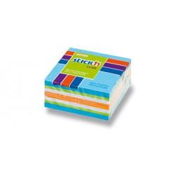 Hopax samolepící minikostka, rozměr 51x51 mm, mix neonových a pastelových  barev, 250 lístků
