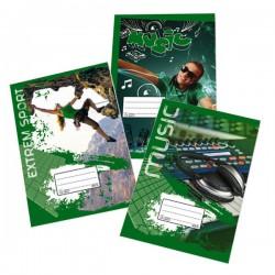 Sešit školní 465 Premium A4 čtverečkovaný, 60 listů