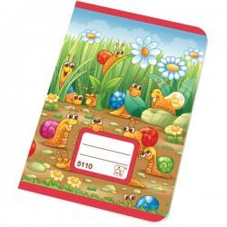 Sešit školní 5110 A5 Junior čtverečkovaný 10x10 mm, 10 listů